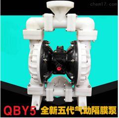 QBY5-65F型塑料气动隔膜泵 耐腐蚀化工泵
