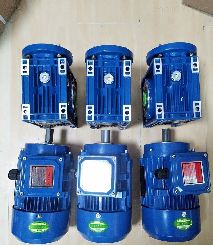 直销立式安装利政牌1.5KW蜗轮蜗杆减速电机