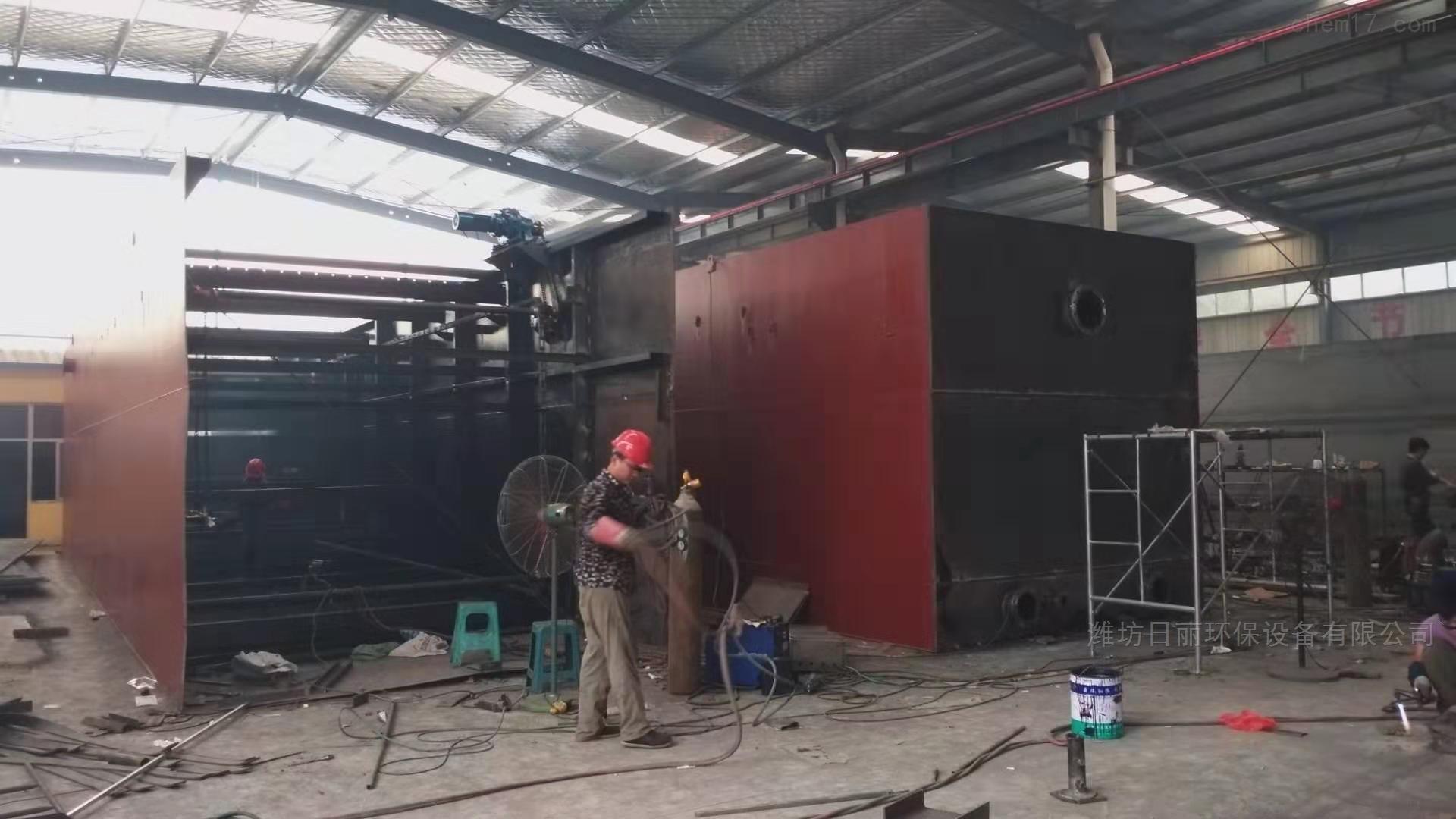 内蒙古地埋式一体化污水处理设备