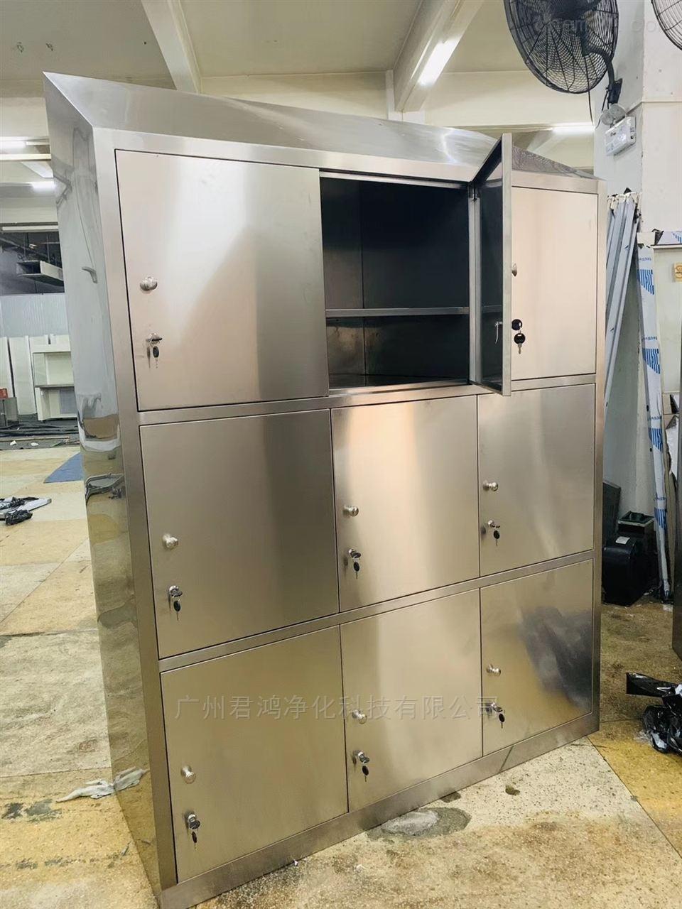 广州君鸿实验室家具支架式不锈钢边台