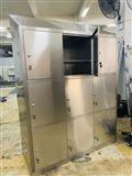 GZJH-900实验室不锈钢更衣柜定制