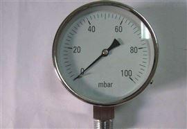 YB-60不锈钢压力表