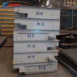 SCS-100t100吨出口式电子地磅安装步骤