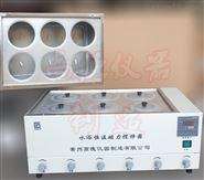 六孔水浴磁力攪拌器