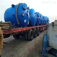 二手5吨搪瓷反应釜长期供应