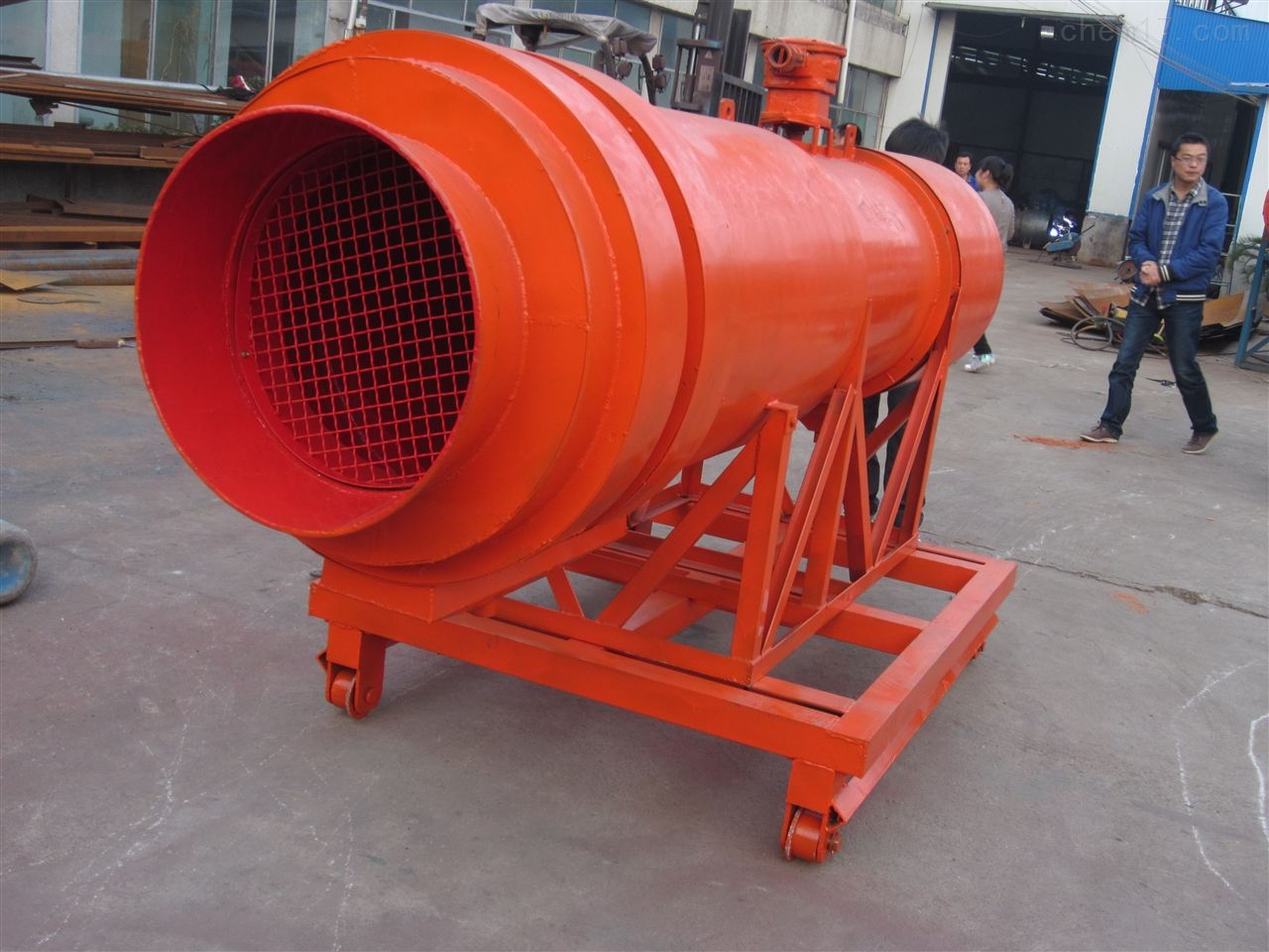 KCS-120D矿用湿式除尘风机防爆型