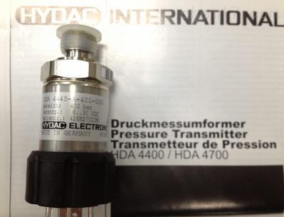 现货HYDAC压力传感器HDA3845-A-016-000