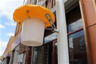 HC-TS1+农林植保仪器立杆式太阳能供电杀虫灯