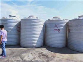 50吨出售二手50吨PE塑料储罐