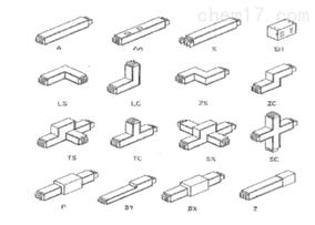 各种弯头及安装支架型式
