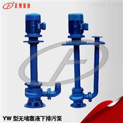 正奥泵业50YW20-7-0.75型单管无堵塞液下泵