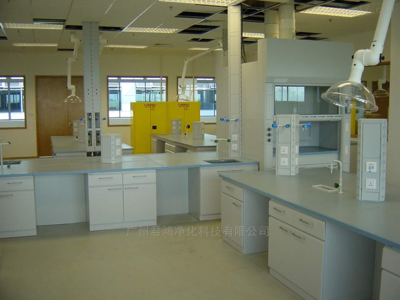 厂家直销广东惠州市实芯理化板实验台