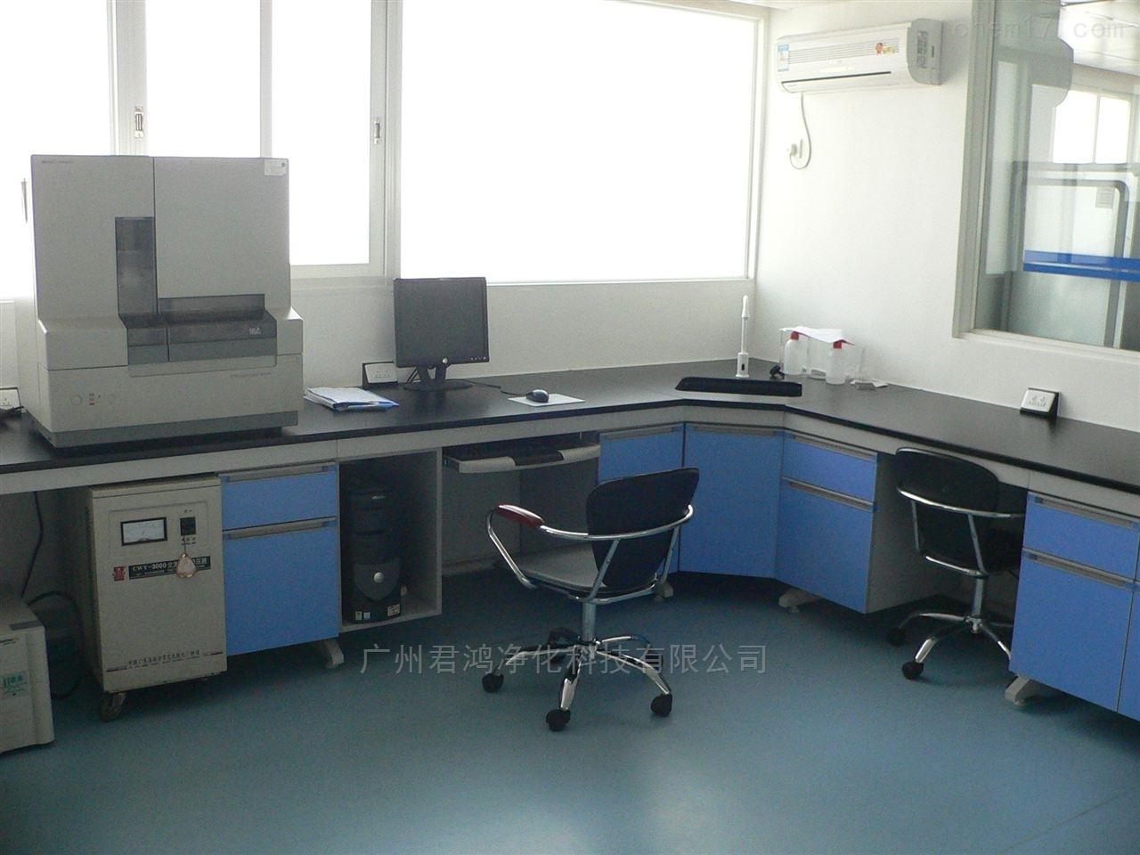君鸿承接清远市化工材料实验室家具整体规划