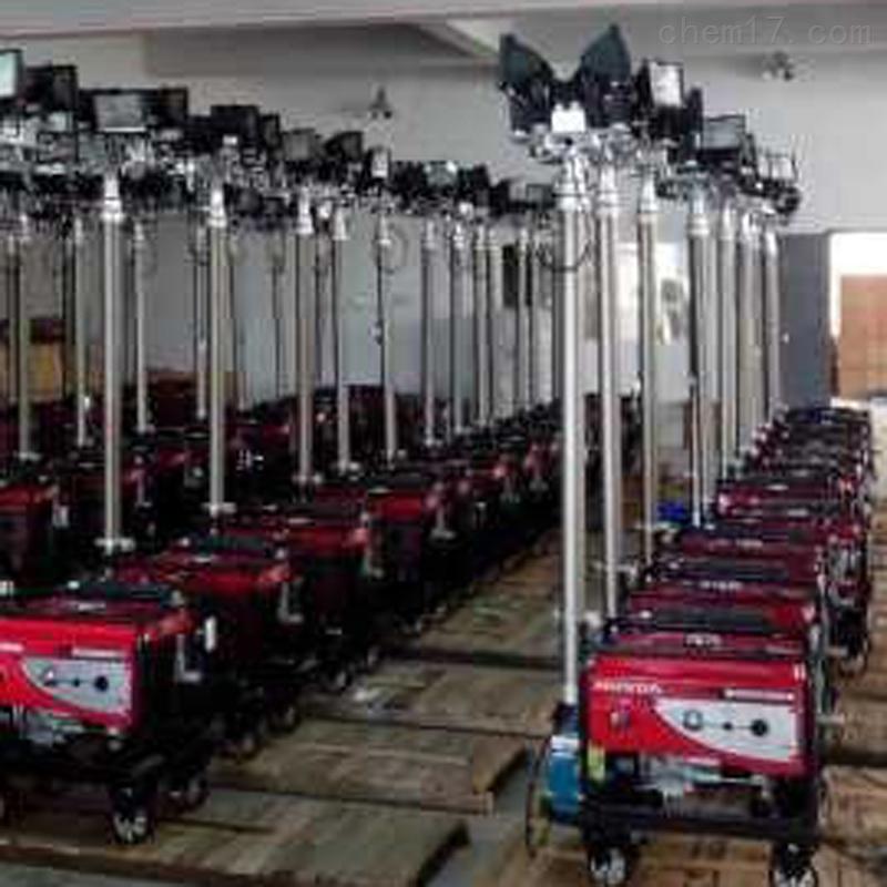 施工照明灯sfd6000a汽油发电机工程应急灯