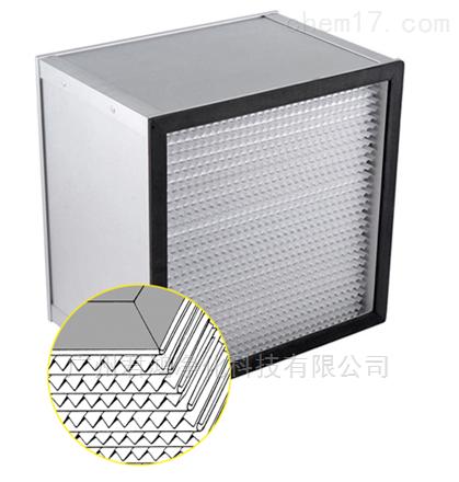 广州开发区无隔板高效过滤器多种尺寸定制