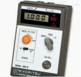 日本共立MODEL 3001B絕緣電阻測試儀