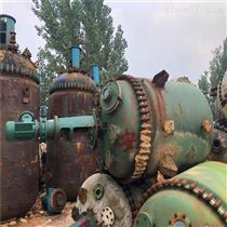 二手3000升搪瓷反应釜供应