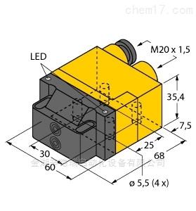 德国图尔克TURCK电感式传感器原装正品