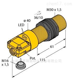 德国图尔克TURCK电容式传感器原装正品