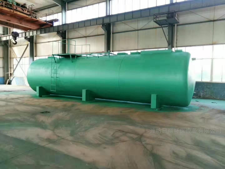 贵州地埋式一体化污水处理设备厂家报价
