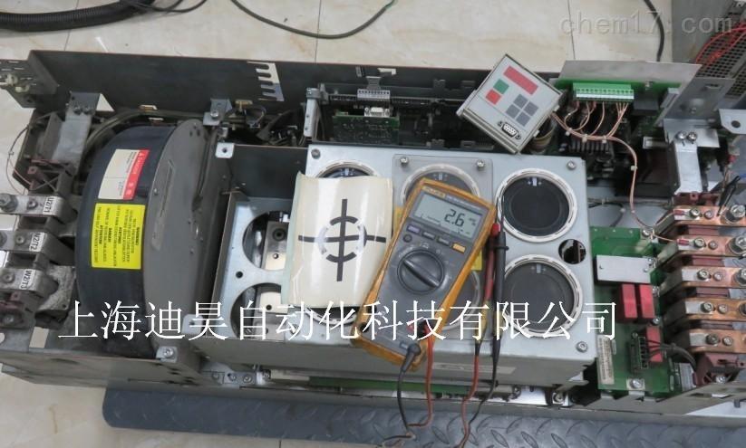 西门子6SE70变频器上电面板无显示黑屏维修