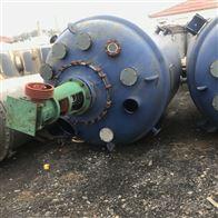 二手3吨电加热搪瓷反应釜