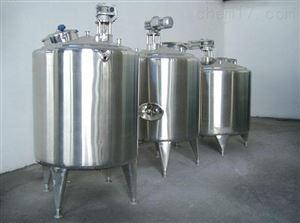 低价出售二手12立方不锈钢液体搅拌罐
