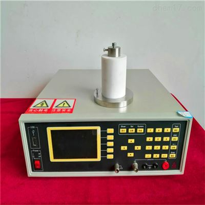 表面电率阻率/体积电阻率测试仪使用流程