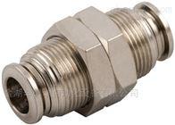 57050 4 (5/32)-M12x1安耐aignep快插接头57050系列穿板式管对管