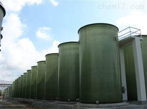 回收出售二手110吨食品级玻璃钢储罐现货
