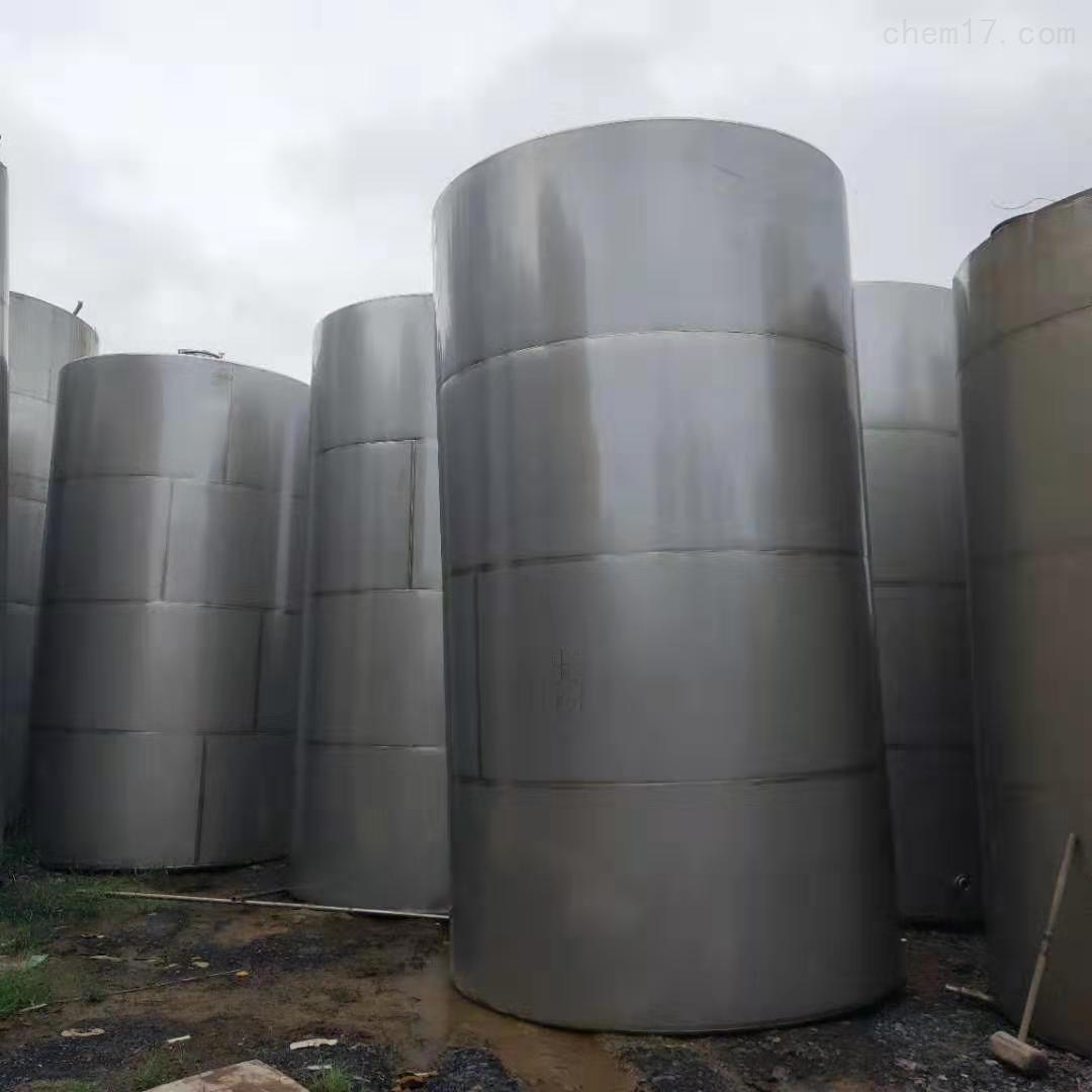 长期回收二手卧式不锈钢储罐