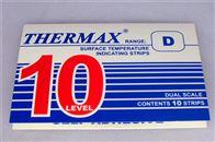 10格D恩慈10格D温度标签188-249度英国TMC测温纸