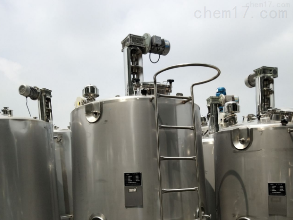 回收各种型号二手外盘管不锈钢发酵罐