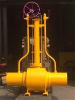 Q361F天然气地埋式全焊接球阀
