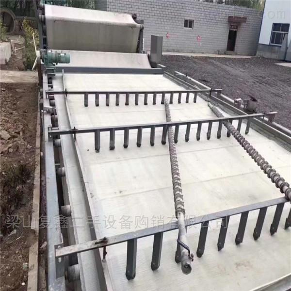 长期回收二手污泥脱水带式过滤机