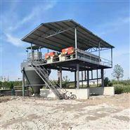 机制砂水洗泥浆板框过滤机沙场污泥脱水压榨