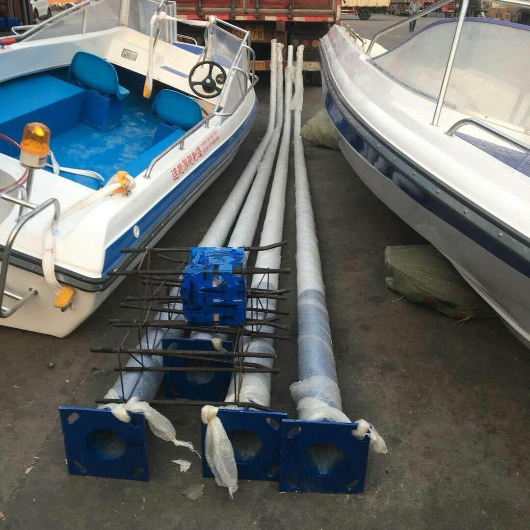 6米8米自弯臂加油站路灯杆配60W70W防爆灯头