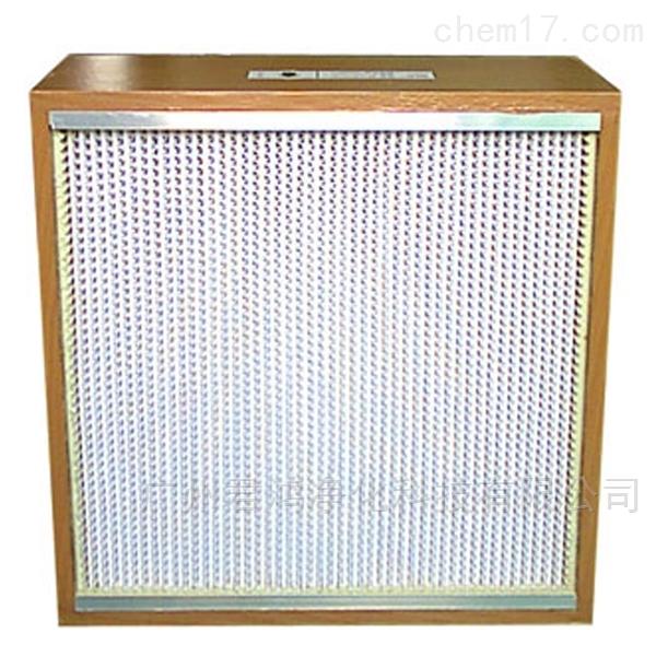 番禺耐高温有隔板高效过滤器厂家