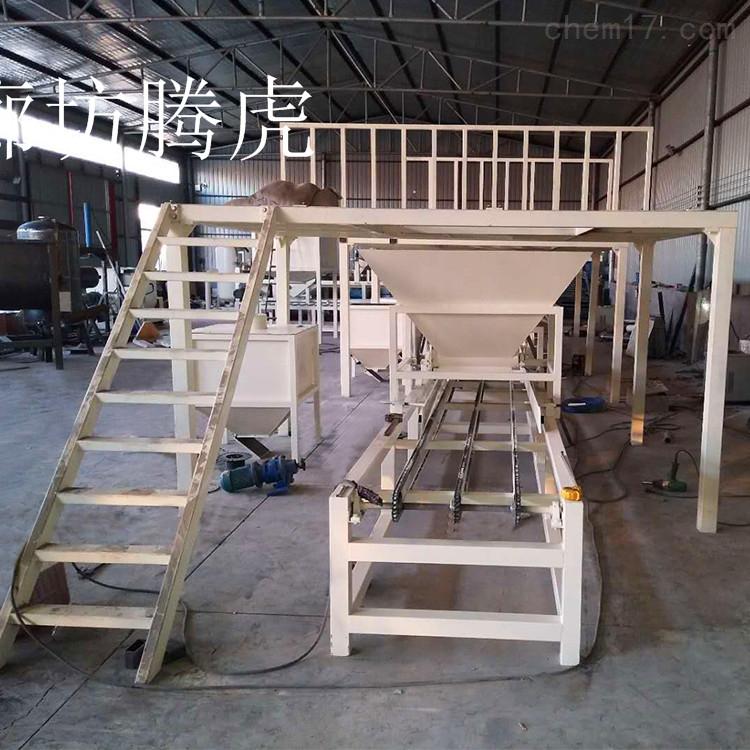 免拆模板生产线经济实用功率强大