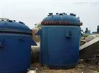 回收转让二手8吨电加热搪瓷反应搅拌釜