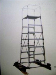 ST供应高强度铝合金梯车使用方法