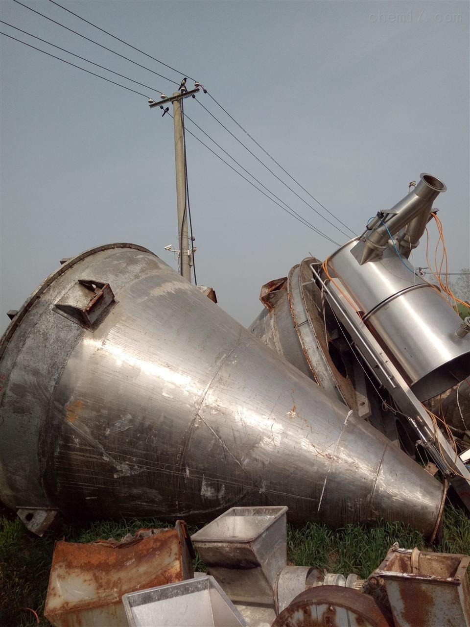 混合机莆田回收二手双螺旋锥形混合机收购价格