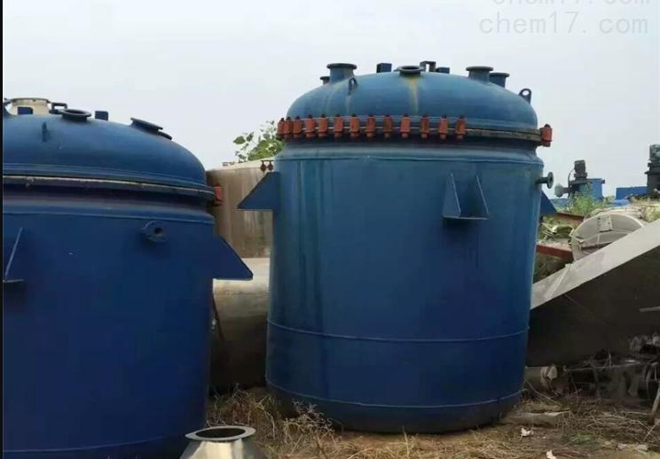 回收二手盘管反应釜
