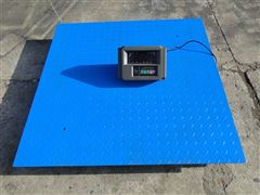 scs-yh维修电子秤电子地磅,落地称 地中衡