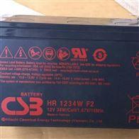 HR1234W F2台湾CSB蓄电池HR1234W F2价格