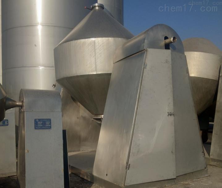 回收低价转让二手5000型真空双锥干燥机
