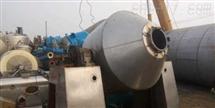 回收低价转让二手不锈钢双锥回转干燥机