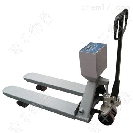 1吨防爆带打印电子叉车秤