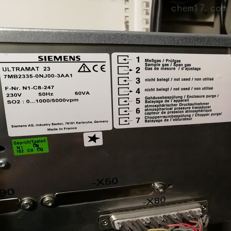 666-风采7MB2521-0BB00-1AA1西门子SIEMENS气体分析仪