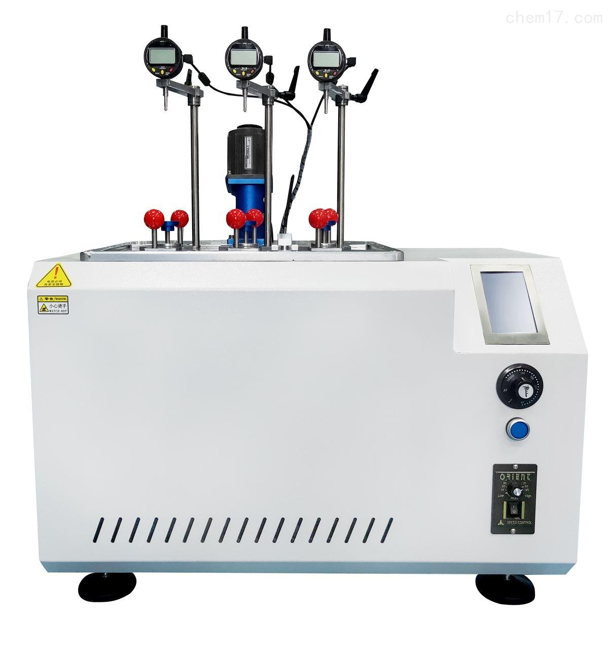 电子式热变形维卡试验机
